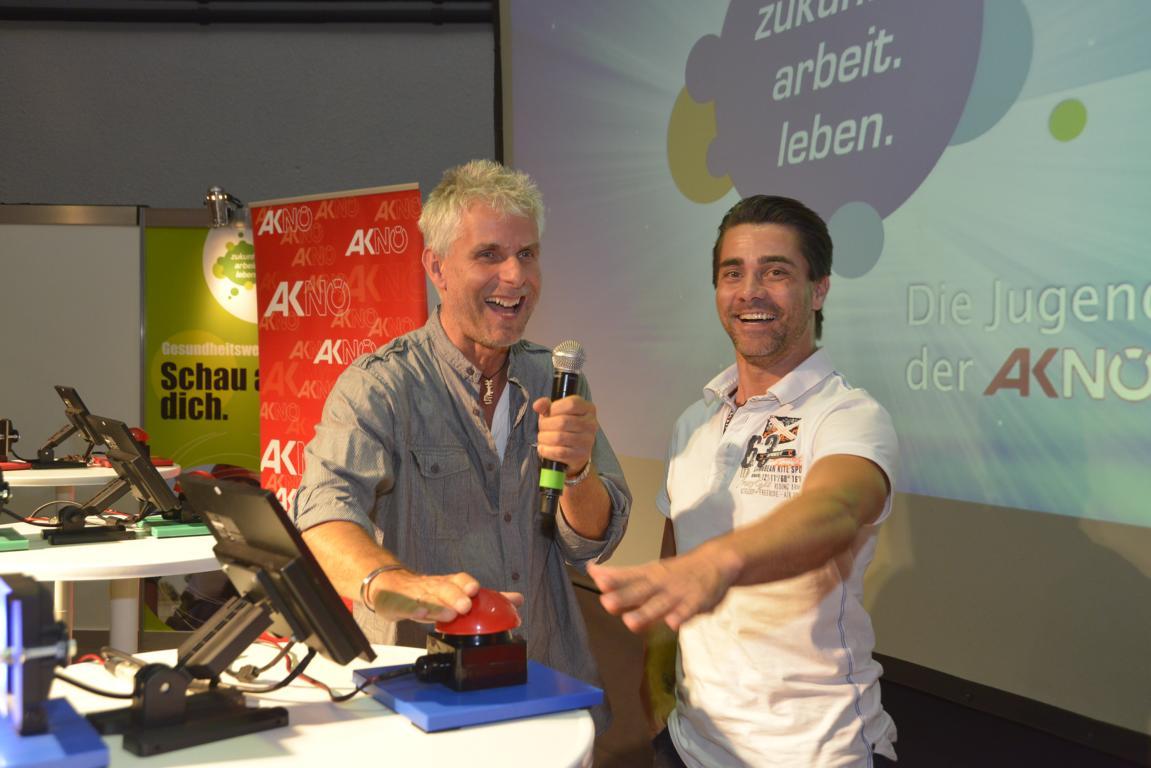 "Moderation und Präsentation mit ""Cafe Puls"" Moderator Andreas Seidl"